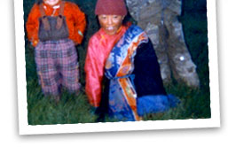 photo of Tibetan children
